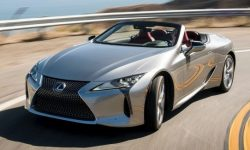 How much is convertible Lexus LC?
