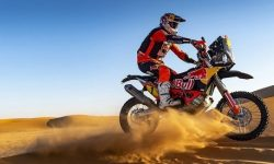 Rally motorcycle KTM 450 Rally Replica has become even rallina