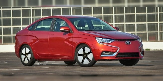 What could be the electric Lada Vesta?