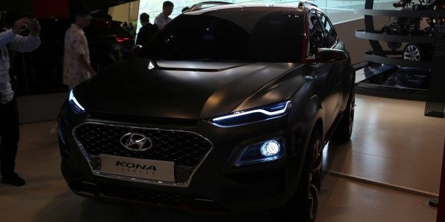 "Darkness captures Korea: Hyundai and now Kona has received a ""black"" version"