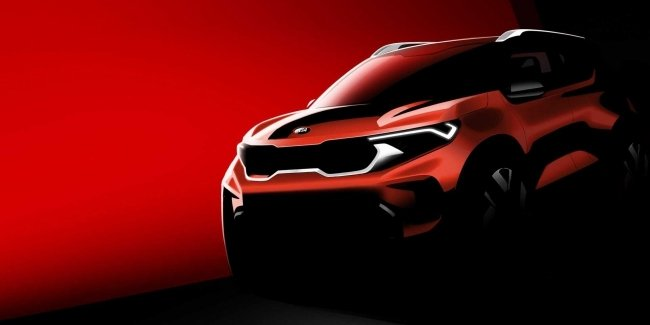 The first image of the SUV KIA Sonet