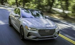 Genesis G70: now only two pedals