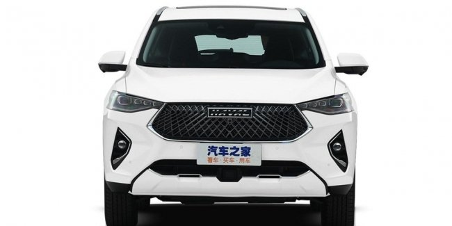 Updated crossover Haval F7