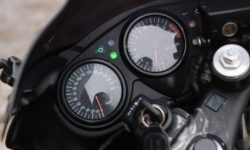 The simulator dashboard for Honda CBR1000RR-R