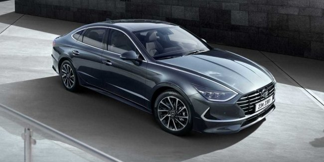 New Hyundai Sonata received additional equipment