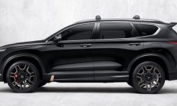 "Hyundai revealed what will be ""charged"" Santa Fe"