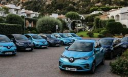 Renault free transplanted to electric cars the whole city