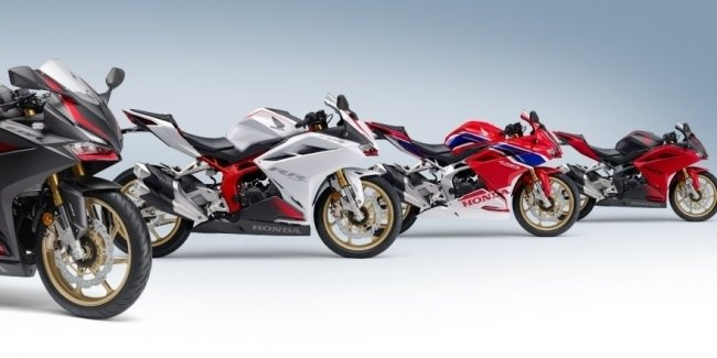 The long-awaited update: sportbike Honda CBR250RR