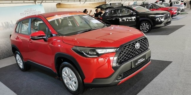 New Toyota Corolla Cross on sale. How much?