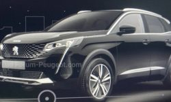 The first images of the updated Peugeot 3008