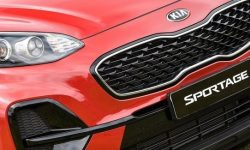 KIA went on to test a new Sportage