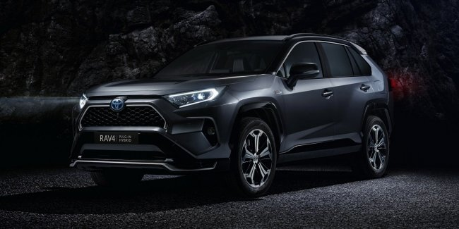 The Toyota RAV4 got the special version Black Edition