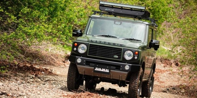Old and reliable Defender from Suzuki