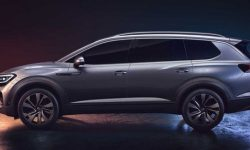 The largest SUV from Volkswagen: the first production photos