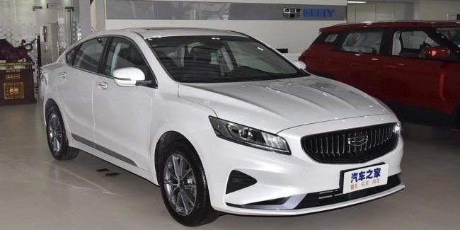 Geely showed the restyled sedan Emgrand GT