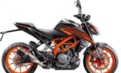 Updated KTM 250 Duke: minus display