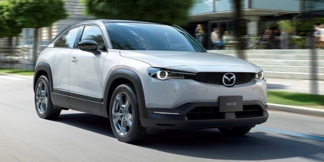 Electric car with petrol Mazda SkyActiv-G?