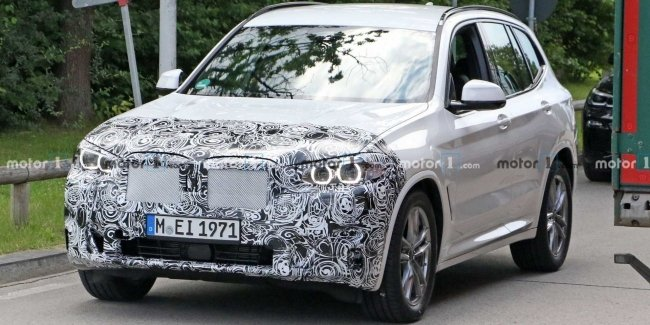 Updated BMW X3 spotted on the tests