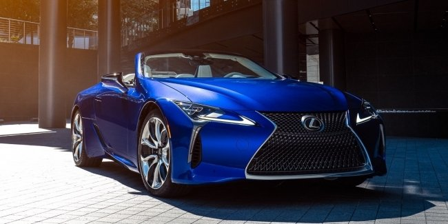 Lexus LC Cabrio: version for boaters
