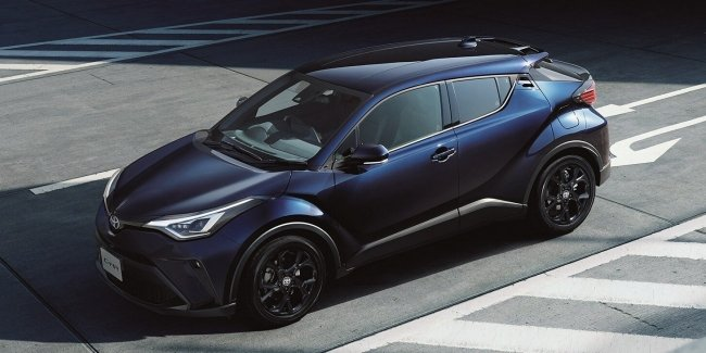 Toyota presented a modernized C-HR
