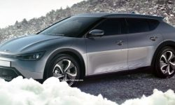 New details about electric cross coupe KIA