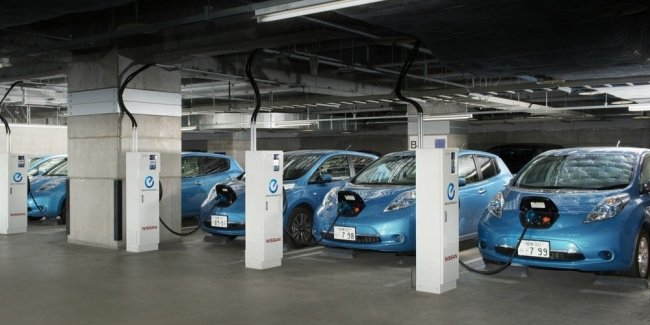 Parking fees electricity. What Nissan?