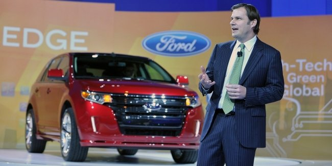Ford bids farewell to its CEO
