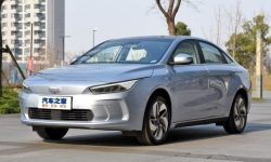 Electric Geely with Belarusian residence permit