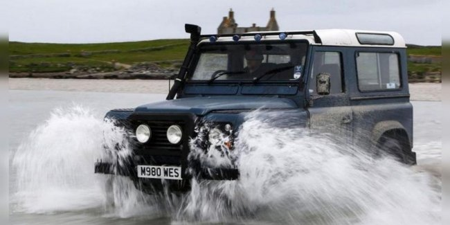 Land Rover was unable to defend the design of the Defender