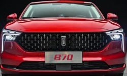 Chinese Cadillac the size of a Mazda 6: new FAW B70 officially presented