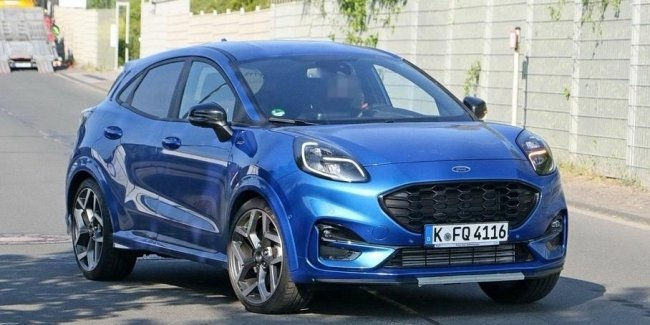 Disclosed details of the sports crossover Ford Puma ST