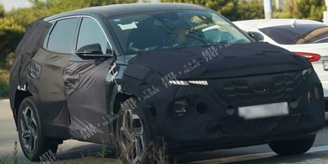 Spies spotted a new Hyundai Tucson