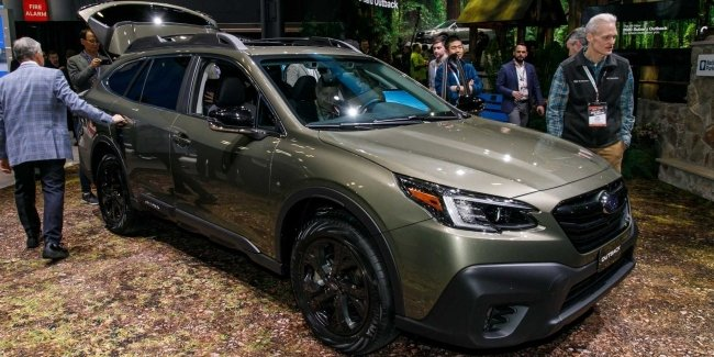 How much will it cost the updated Subaru Outback and Legacy