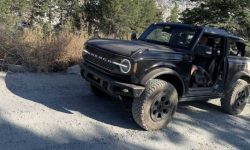 As Ford Bronco feels in the rocky mountains? (video)