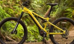 Mountain electric bicycles from Yamaha
