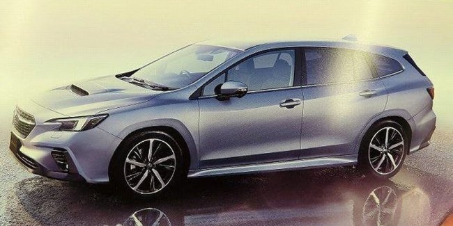 The New Subaru Levorg. It's definitely interior?