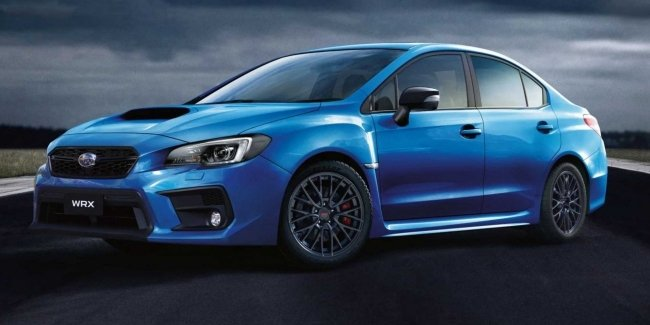 Limited edition Subaru WRX Club Spec