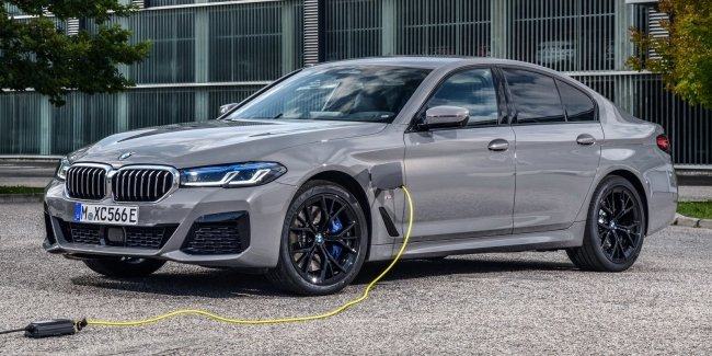 """BMW 545e: 4.7 to """"hundreds"""" with the consumption of 2.1 l!"""