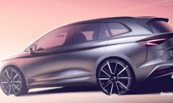 How it will look electric Skoda Enyaq?