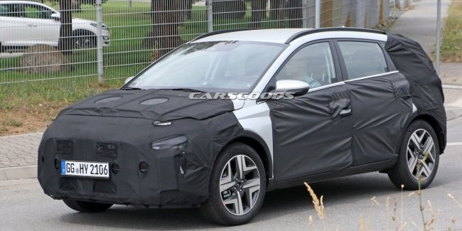 Hyundai has released tests on the smallest crossover