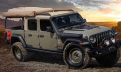 Gladiator for travelers: Jeep has introduced a new camper