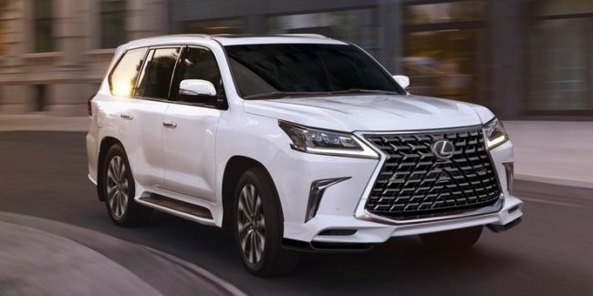 New inspiration: a modernized and limited Lexus LX