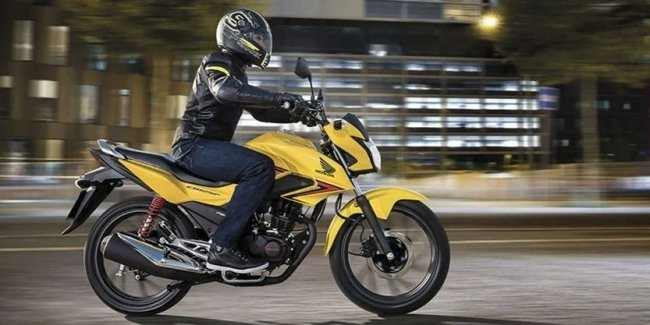 Honda CB125F is a new bestseller on the market