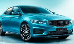 Geely boasted the appearance of a sedan on the basis of the Volvo