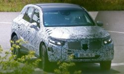New Mercedes GLC: the first image