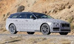 The cat is waiting for update: on tests seen the Jaguar XF Sportbrake