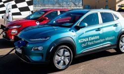 Electric Hyundai Kona traveled on a single charge 1026 km