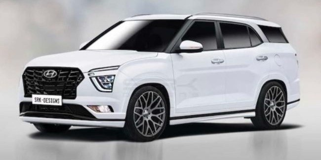 Santa Creta? How will the new crossover Hyundai 7 places