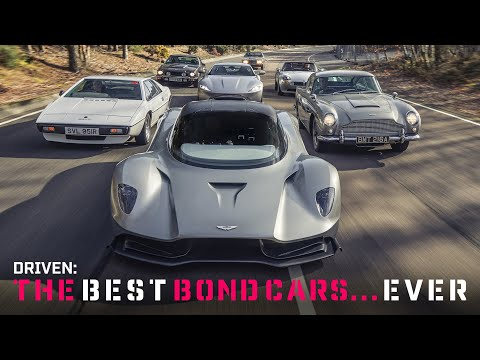 Driving the best Bond cars ever!