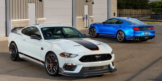 New Mustang Mach 1 as Shelby replacement